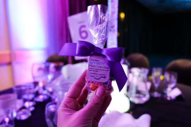 Merchandise by Affinity Merchandise at the Maidenhead and Windsor Business Awards