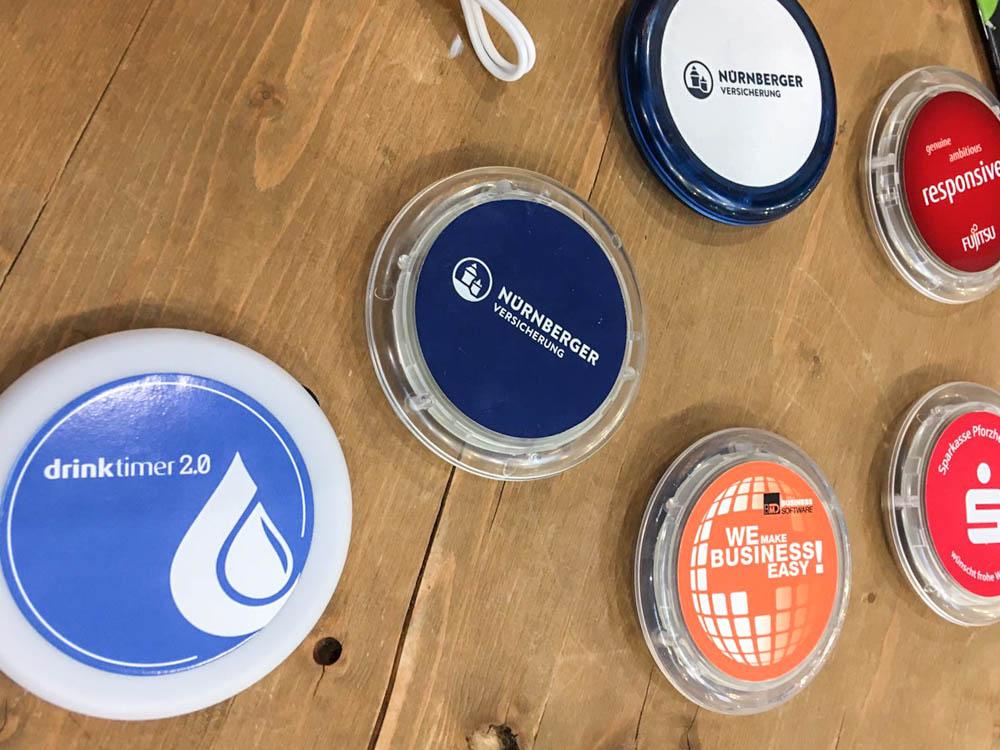 Drink sensor at PSI Exhibition in Dusseldorf